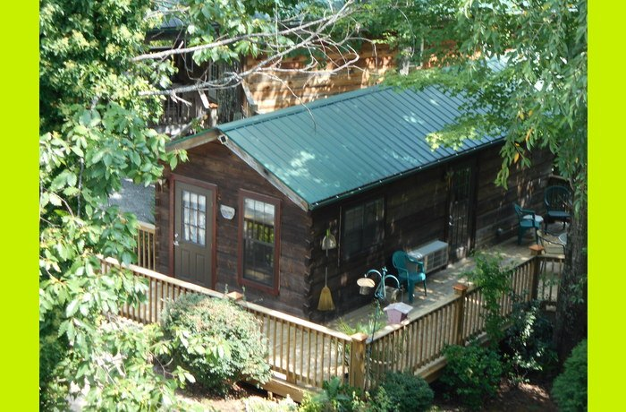 Aerial view of Bluebird cabin